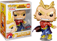 My Hero Academia - All Might Metallic Pop! Vinyl Figure (RS) - Rogue Online Pty Ltd