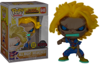 My Hero Academia - All Might Weakened Glow US Exclusive Pop! Vinyl [RS] - Rogue Online Pty Ltd