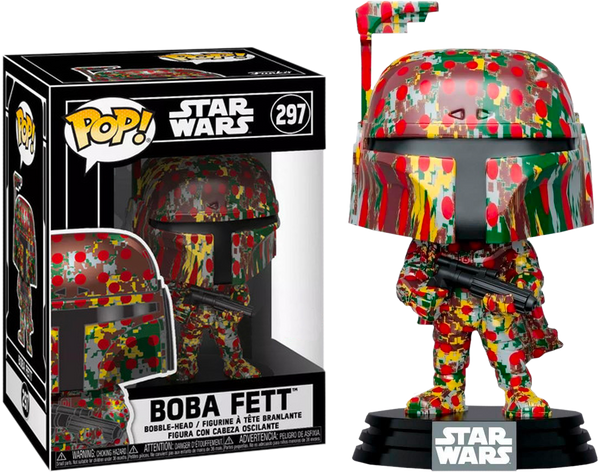 Star Wars - Boba Fett (Futura) US Exclusive Pop! Vinyl with Protector [RS] - Rogue Online Pty Ltd