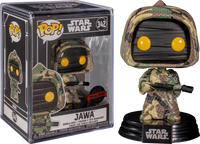 Star Wars - Jawa (Futura) US Exclusive Pop! Vinyl with Protector [RS] - Rogue Online Pty Ltd