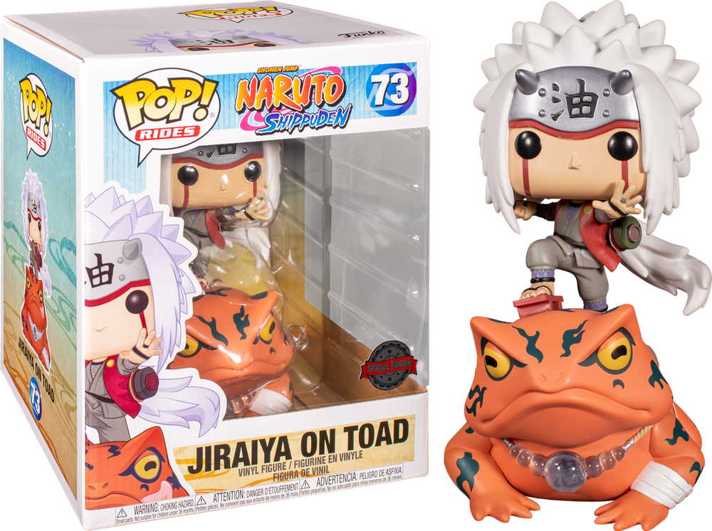 PREORDER Naruto Shippuden - Jiraiya on Toad Exclusive Pop! Ride [RS]
