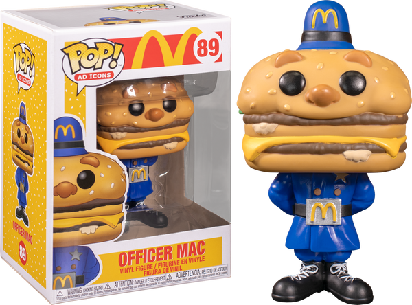 McDonalds - Officer Big Mac Pop! Vinyl - Rogue Online Pty Ltd