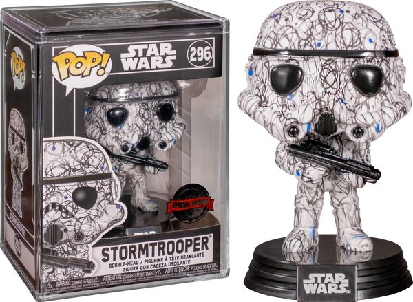 Star Wars - Stormtrooper (Futura) Pop! Vinyl with Protector [RS] - Rogue Online Pty Ltd