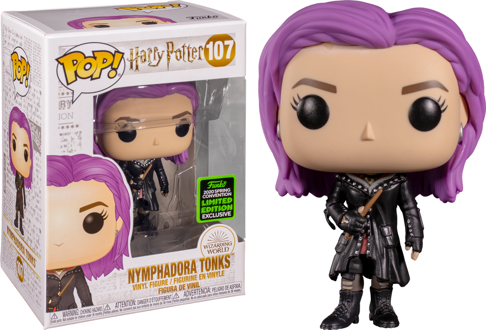 Harry Potter - Nymphadora Tonks ECCC 2020 Exclusive Pop! Vinyl - Rogue Online Pty Ltd