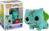 Pokemon - Bulbasaur Flocked ECCC 2020 Exclusive Pop! Vinyl