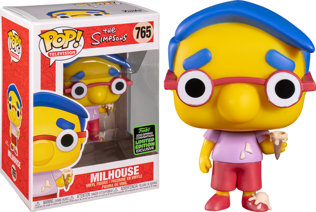 Simpsons - Milhouse ECCC 2020 Exclusive Pop! Vinyl - Rogue Online Pty Ltd