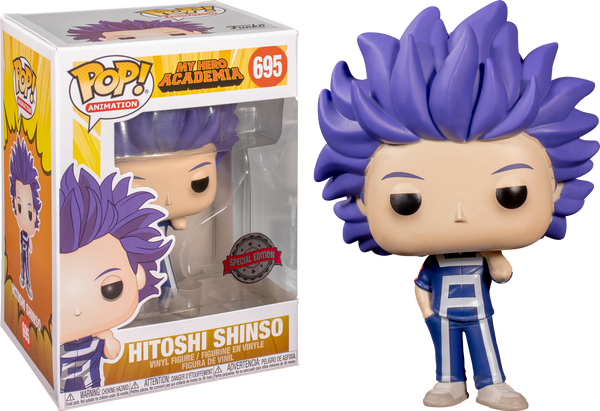 My Hero Academia - Hitoshi Shinso US Exclusive Pop! Vinyl [RS] - Rogue Online Pty Ltd