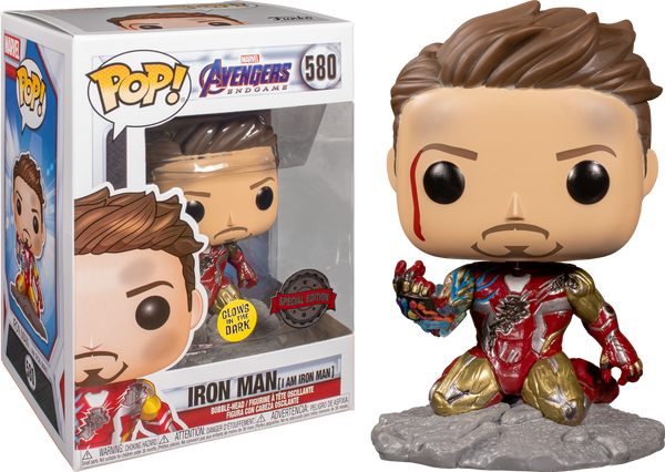 Avengers 4: Endgame - I Am Iron Man Glow Pop! Deluxe - Rogue Online Pty Ltd