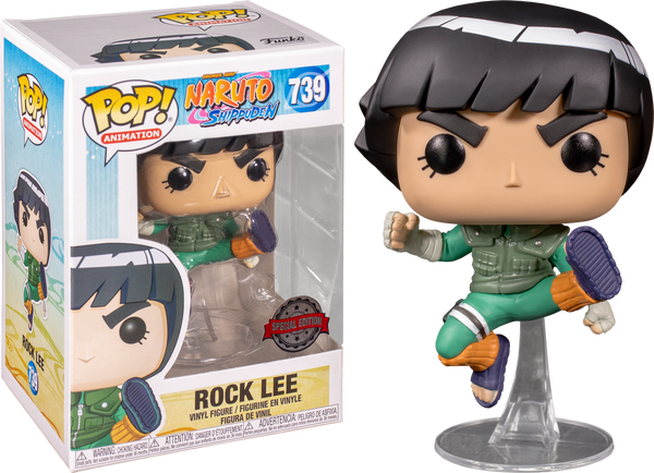Naruto: Shippuden - Rock Lee Pop! Vinyl Figure (RS) - Rogue Online Pty Ltd