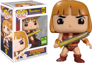 Thundarr the Barbarian - Thundarr, Ookla & Princess Ariel Pop! Vinyl Bundle (Set of 3) (2021 Spring Convention Exclusive)