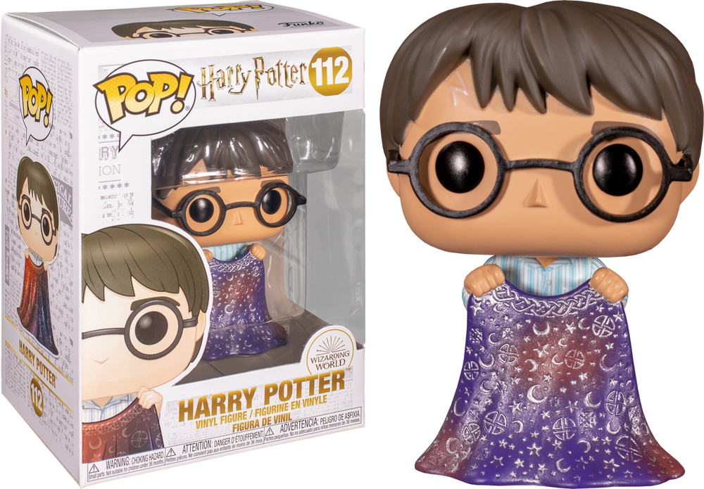 Harry Potter - Harry with Invisibility Cloak Pop! Vinyl - Rogue Online Pty Ltd