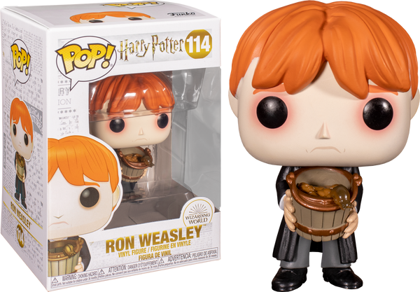 Harry Potter - Ron with Puking Slugs Pop! Vinyl - Rogue Online Pty Ltd