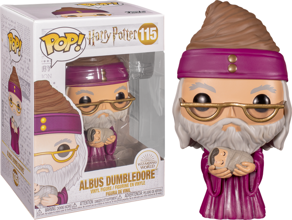 Harry Potter - Dumbledore with Baby Harry Pop! Vinyl - Rogue Online Pty Ltd