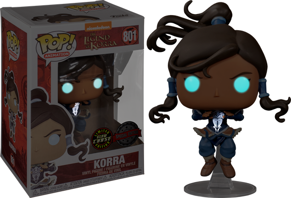 The Legend of Korra - Korra Avatar State (with chase GLOW) Pop! Vinyl - Rogue Online Pty Ltd