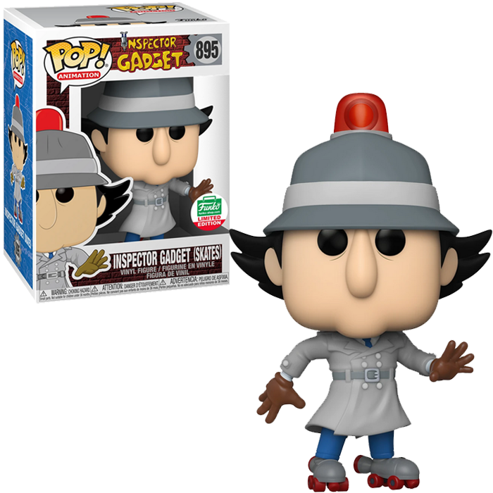 Inspector Gadget with Skates - FUNKO SHOP EXCLUSIVE