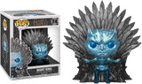 Game of Thrones - Night King on Throne Metallic Deluxe Pop! Vinyl Figure (RS) - Rogue Online Pty Ltd