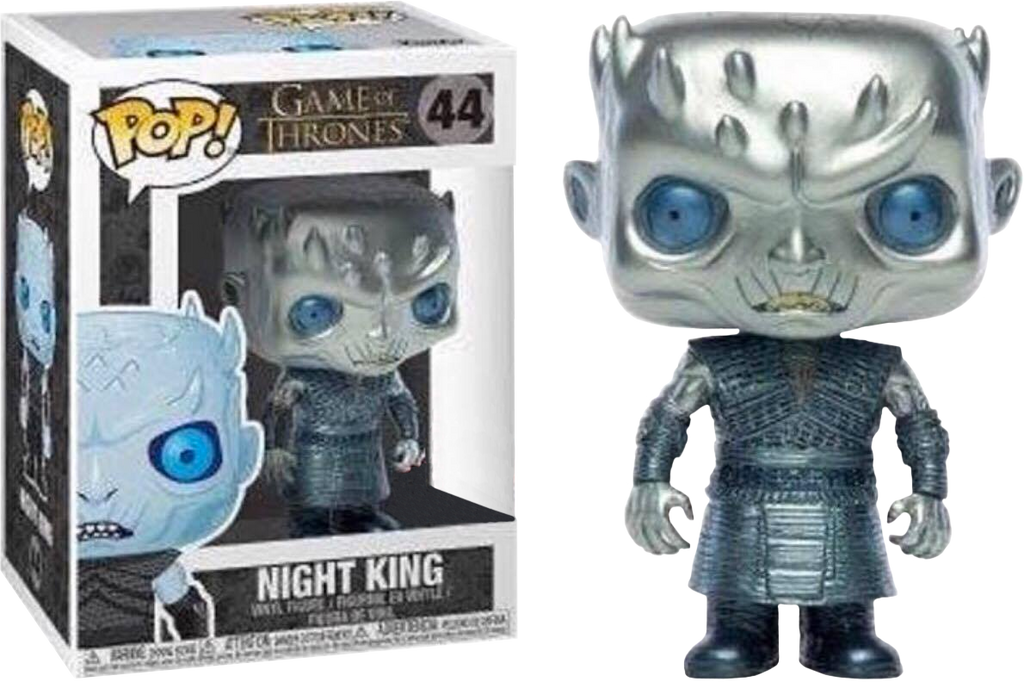 Game of Thrones - Night King Metallic Pop! Vinyl Figure (RS) - Rogue Online Pty Ltd