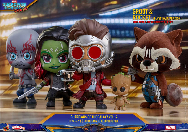 Hot Toys: Guardians Of The Galaxy Vol 2 - Series 1 Cosbaby Set (5 Figures) - Rogue Online Pty Ltd