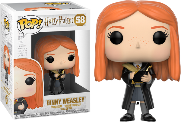 Harry Potter - Ginny Weasley with Diary Pop! Vinyl Figure - Rogue Online Pty Ltd