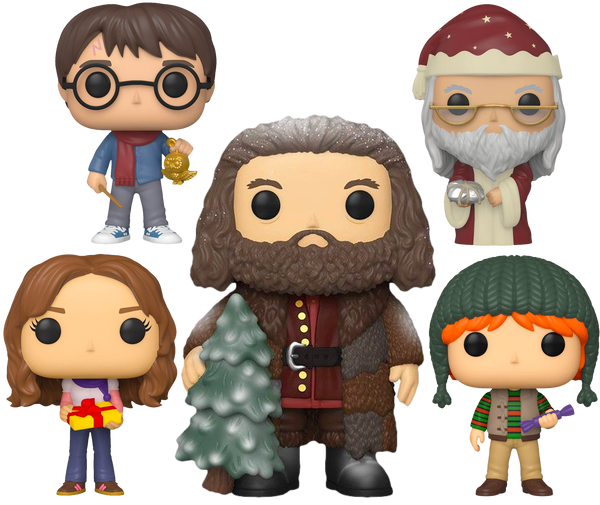 Harry Potter - A Very Harry Christmas Holiday Pop! Vinyl Bundle (Set of 5) - Rogue Online Pty Ltd