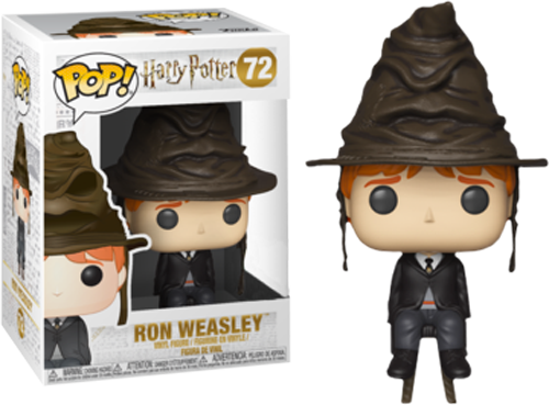Harry Potter - Ron Weasley with Sorting Hat Pop! Vinyl Figure - Rogue Online Pty Ltd