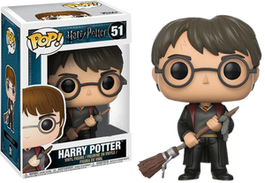 Harry Potter - Harry Potter with Firebolt Pop! Vinyl Figure - Rogue Online Pty Ltd