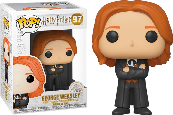 Harry Potter and the Goblet of Fire - George Weasley Yule Ball Pop! Vinyl Figure - Rogue Online Pty Ltd