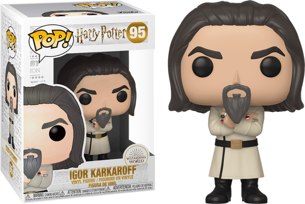 Harry Potter and the Goblet of Fire - Igor Karkaroff Yule Ball Pop! Vinyl Figure - Rogue Online Pty Ltd