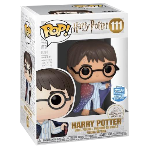 Harry Potter - Harry Potter with Invisibility Cloak Pop! Vinyl Figure (FUNKO Exclusive) (RS) - Rogue Online Pty Ltd