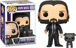 John Wick - John Wick with Dog Pop! Vinyl - Rogue Online Pty Ltd