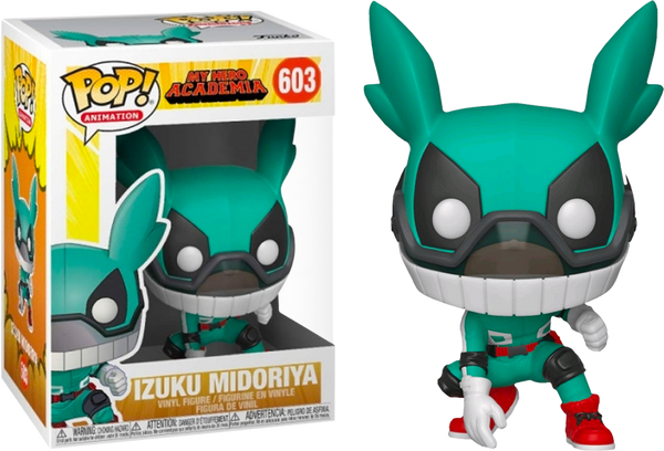 My Hero Academia - Deku with Helmet Pop! Vinyl Figure - Rogue Online Pty Ltd