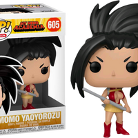 My Hero Academia - Momo Yaoyorozu Pop! Vinyl Figure - Rogue Online Pty Ltd