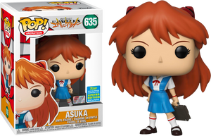 Neon Genesis Evangelion - Asuka in Uniform Pop! Vinyl Figure (2019 Summer Convention Exclusive) (RS) - Rogue Online Pty Ltd