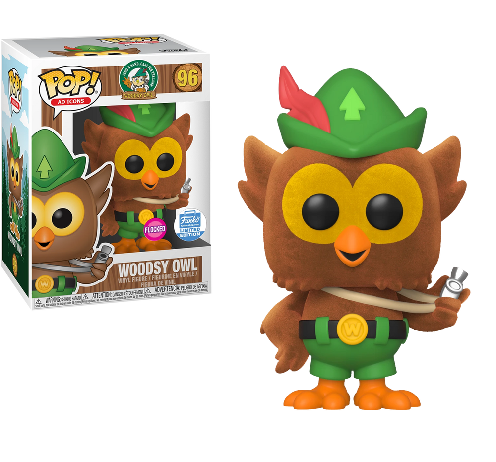 Woodsy Owl (Flocked) - Funko Shop Exclusive - Rogue Online Pty Ltd