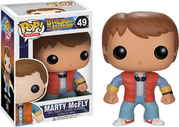 Back to the Future - Marty McFly Pop! Vinyl Figure - Rogue Online Pty Ltd