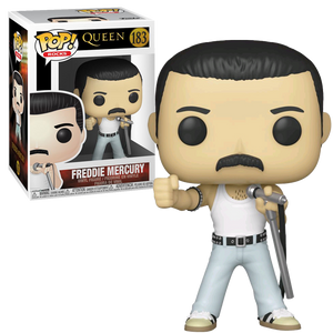 Queen - Freddie Mercury Radio Gaga Live Aid 1985 Pop! Vinyl Figure