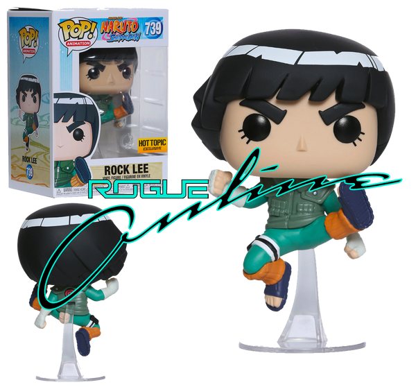 Funko Naruto Shippuden Pop! Animation Rock Lee Vinyl Figure Hot Topic Exclusive - Rogue Online Pty Ltd