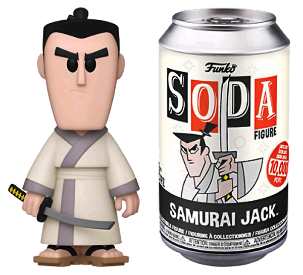 Samurai Jack - Samurai Jack (with chase) Vinyl Soda - Rogue Online Pty Ltd