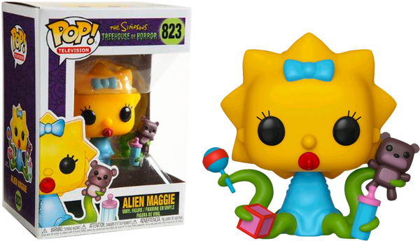 The Simpsons - Maggie Simpson as Alien Pop! Vinyl Figure - Rogue Online Pty Ltd