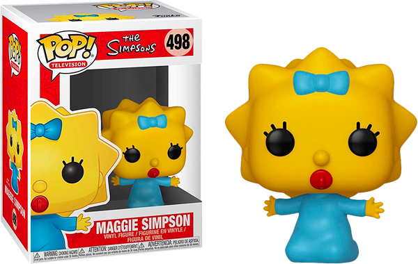 The Simpsons - Maggie Simpson Pop! Vinyl Figure - Rogue Online Pty Ltd