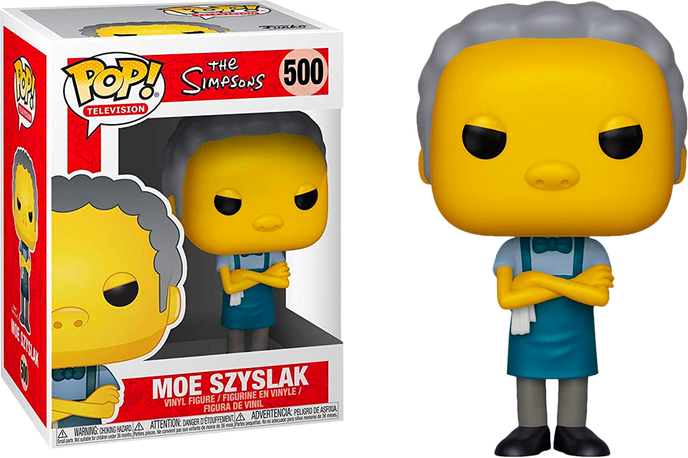 The Simpsons - Moe Szyslak Pop! Vinyl Figure - Rogue Online Pty Ltd