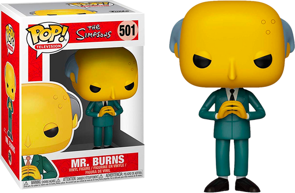 The Simpsons - Mr. Burns Pop! Vinyl Figure - Rogue Online Pty Ltd
