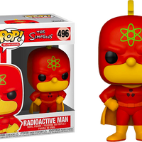 The Simpsons - Radioactive Man Pop! Vinyl Figure - Rogue Online Pty Ltd