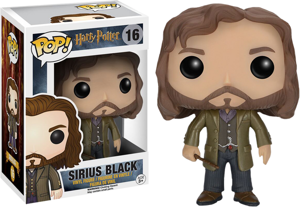 Harry Potter - Sirius Black Pop! Vinyl Figure - Rogue Online Pty Ltd