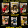 Mystery Blind Box Funko Pop! Vinyl - The Grail Hunts