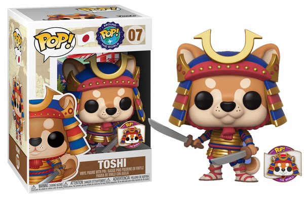 Toshi - Around the World - Funko Shop Exclusive - Rogue Online Pty Ltd