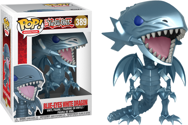 Yu-Gi-Oh! - Blue-Eyes White Dragon Pop! Vinyl Figure - Rogue Online Pty Ltd