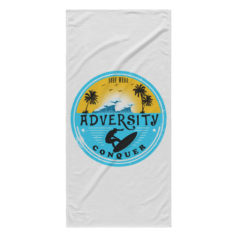 Adversity Surf Towel, Beach Towel - ADVERSITY GEAR