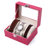 Ladies Leather Watch Box, Watch - ADVERSITY GEAR