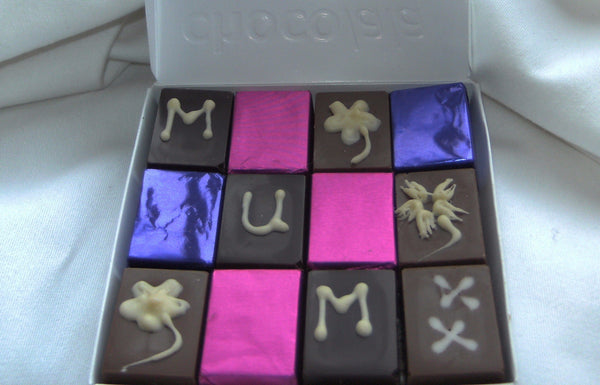 personalised square dozen - Chocolala